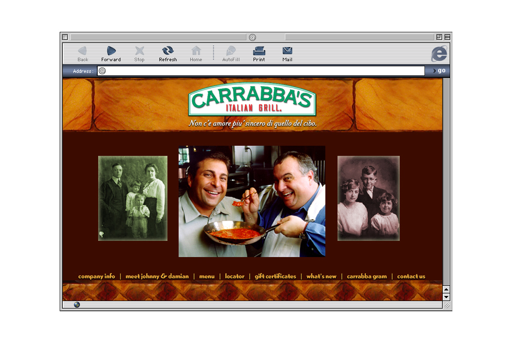 Carrabba's Italian Grill Website